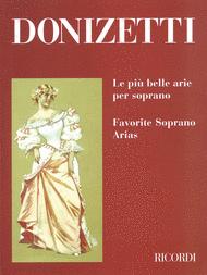 Favorite Soprano Arias Sheet Music by Gaetano Donizetti
