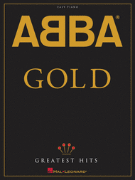 Gold (Greatest Hits) - Easy Piano Sheet Music by ABBA