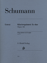 Piano Quintet in E flat major Op. 44 Sheet Music by Robert Schumann
