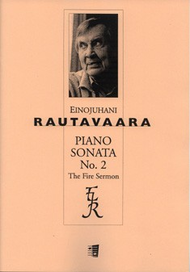 "Piano Sonata 2 ""The Fire Sermon"" Sheet Music by Einojuhani Rautavaara"