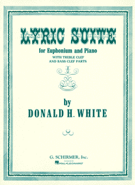 Lyric Suite Sheet Music by Donald White