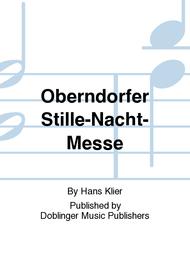 Oberndorfer Stille-Nacht-Messe Sheet Music by Hans Klier