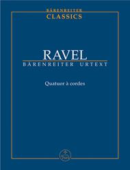 String Quartet Sheet Music by Maurice Ravel