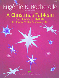 A Christmas Tableau of Piano Trios Sheet Music by Eugenie R. Rocherolle