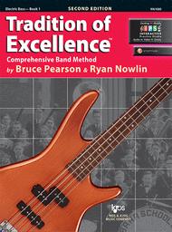 Tradition of Excellence Book 1 - Electric Bass Sheet Music by Bruce Pearson