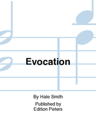 Evocation Sheet Music by Hale Smith