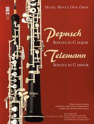 Pepusch - Sonata in C Major; Telemann - Sonata in C minor Sheet Music by Georg Phillipp Telemann