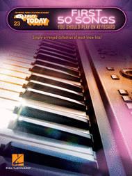 First 50 Songs You Should Play on Keyboard Sheet Music by Various