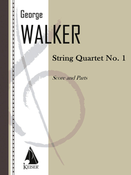 String Quartet No. 1 Sheet Music by George Walker