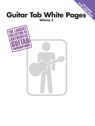 Guitar Tab White Pages Volume 3 Sheet Music by Various