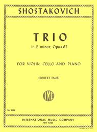 Trio in E minor