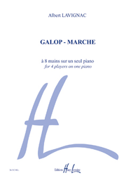 Galop - Marche Sheet Music by Albert Lavignac