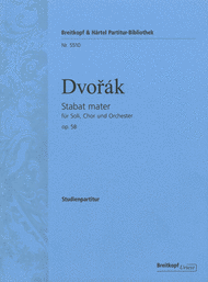 Stabat mater Op. 58 Sheet Music by Antonin Dvorak