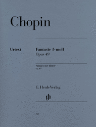 Fantasy in F minor Op. 49 Sheet Music by Frederic Chopin