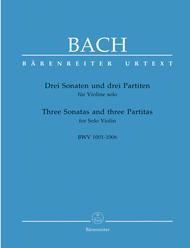 3 Sonatas And 3 Partitas For Solo Violin