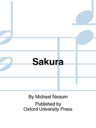 Sakura Sheet Music by Michael Neaum