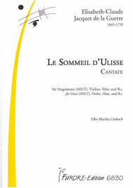Le Sommeil d'Ulisse. Odysseus' sleep. Cantata for Mezzo-Soprano/Tenor