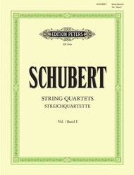 String Quartets - Volume 1 Sheet Music by Franz Schubert