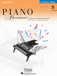 Piano Adventures Level 2B - Lesson Book Sheet Music by Randall Faber