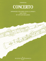 Concerto for Oboe and Orchestra Sheet Music by Domenico Cimarosa