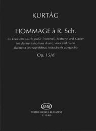 Hommage a R. Schumann Sheet Music by Gyorgy Kurtag
