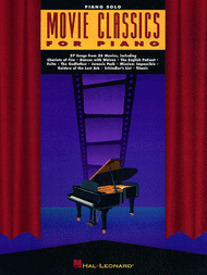 Movie Classics For Piano Sheet Music by Various