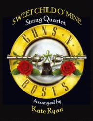 Sweet Child O' Mine (String Quartet) Sheet Music by Guns N' Roses
