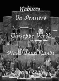 "Chorus of the Hebrew Slaves ""Va Pensiero"" Nabucco Sheet Music by Giuseppe Verdi"