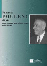 Gloria (Cantata) Sheet Music by Francis Poulenc