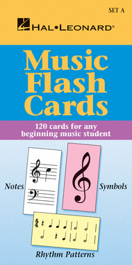 Music Flash Cards - Set A Sheet Music by Various