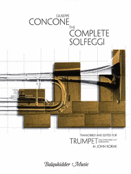 The Complete Solfeggi for Trumpet Sheet Music by Giuseppe Concone