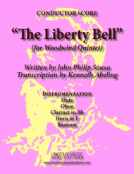 March - The Liberty Bell (for Woodwind Quintet) Sheet Music by John Philip Sousa?