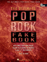 The Ultimate Pop/Rock Fake Book - In C Sheet Music by Various