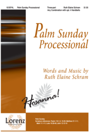 Palm Sunday Processional Sheet Music by Ruth Elaine Schram