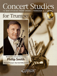 Concert Studies for Trumpet Sheet Music by Philip Smith