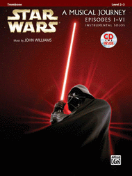 Star Wars I-VI Instrumental Solos - Trombone Sheet Music by John Williams
