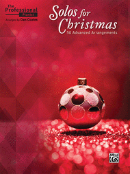 The Professional Pianist -- Solos for Christmas Sheet Music by Dan Coates