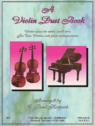 A Violin Duet Book Sheet Music by Ernest Chausson