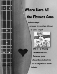 Where Have All The Flowers Gone? Sheet Music by Pete Seeger