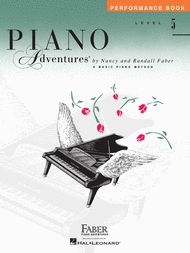Piano Adventures Level 5 - Performance Book Sheet Music by Nancy Faber