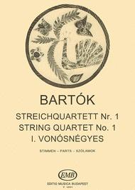 Streichquartett Nr. 1 op. 7 Sheet Music by Bela Bartok