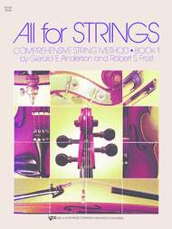 All For Strings - Book 1 (Violin) Sheet Music by Gerald E. Anderson
