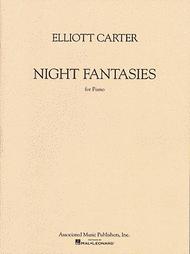 Night Fantasies Sheet Music by Elliott Carter