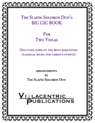 The Slapin-Solomon Duo's Big Gig Book for Two Violas Sheet Music by J.S. Bach