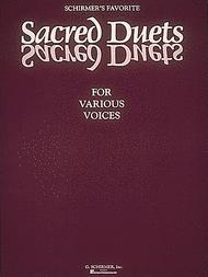 Schirmer's Favorite Sacred Duets Sheet Music by Various