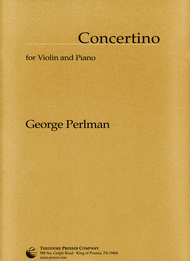 Concertino Sheet Music by George Perlman