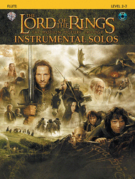 The Lord of the Rings - Instrumental Solos (Flute) Sheet Music by Howard Shore