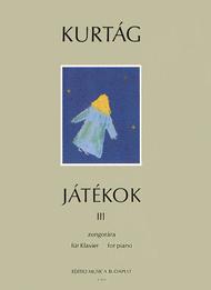 Jatekok - Games - Spiele 3 Sheet Music by Gyorgy Kurtag