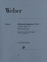 Clarinet Concerto No. 1 in F minor