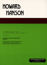 Symphony No.2 Sheet Music by Howard Hanson